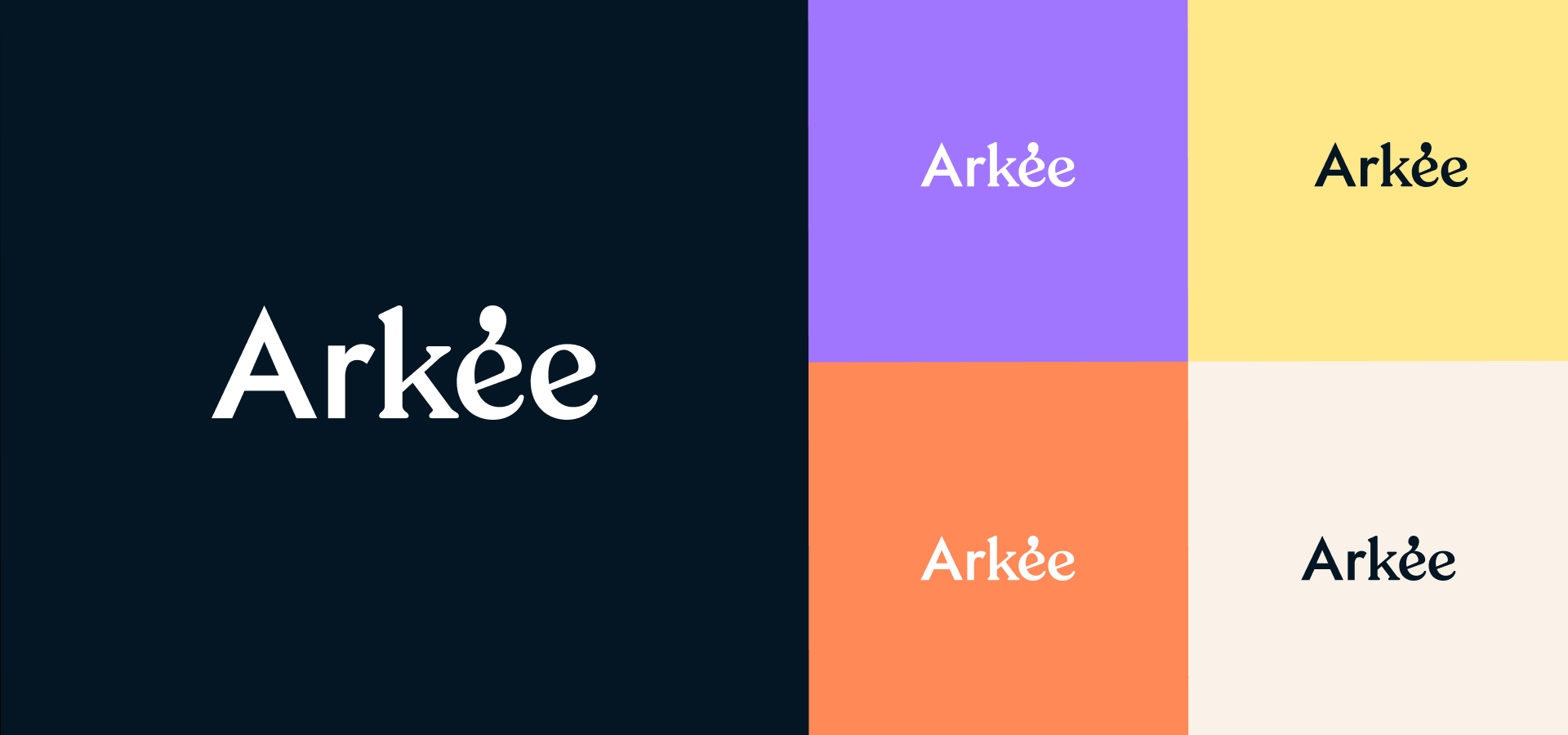 arkee - logo - couleurs
